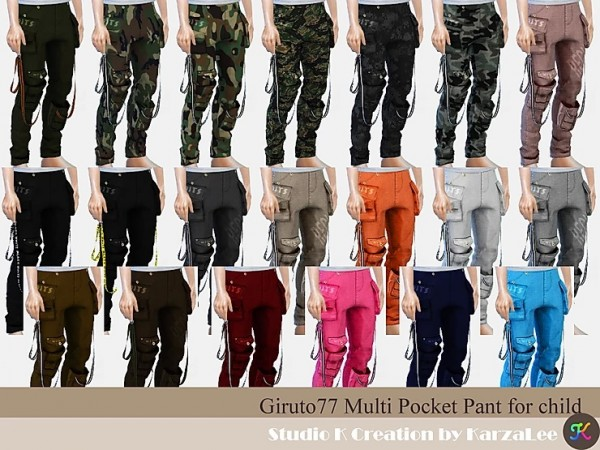 Studio K Creation: Multi Pocket Pant for child