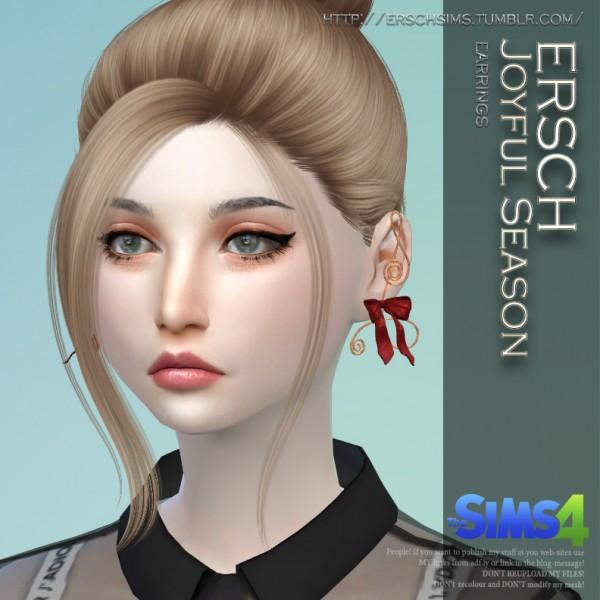 ErSch Sims: Joyful Season Earrings