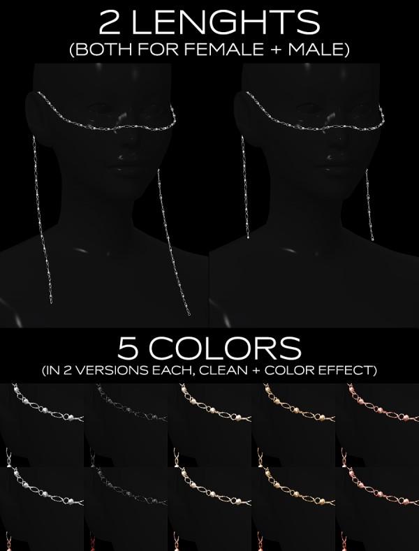 Praline Sims: Face Chain