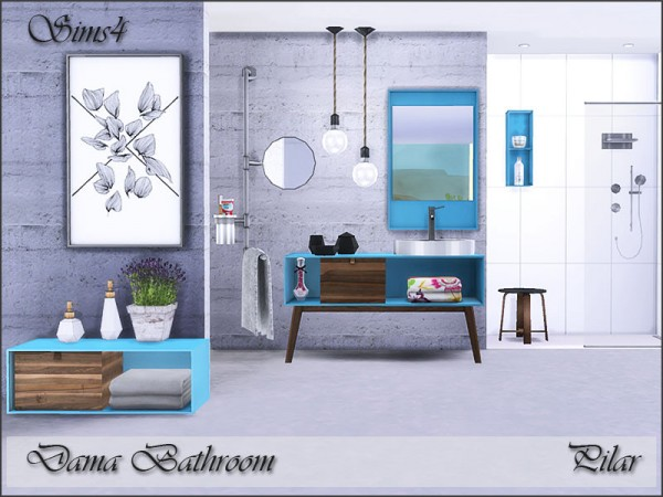 The Sims Resource: Dama Bathroom by Pilar