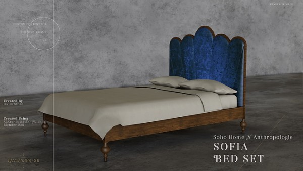 Blooming Rosy: Sofia Bed