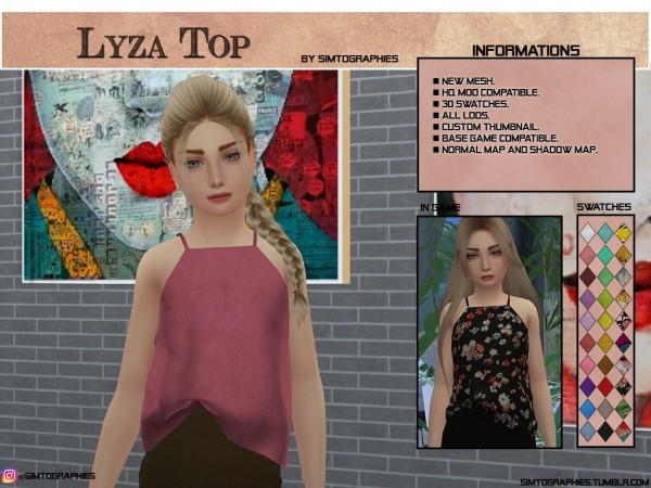 Simtographies: Lyza Top