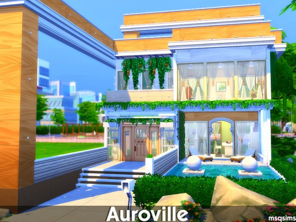 The Sims Resource: Auroville House by MSQSIMS