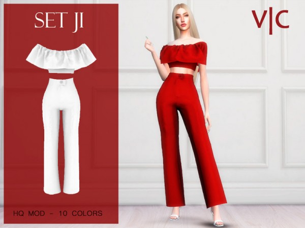 The Sims Resource: Set JI by Viy Sims