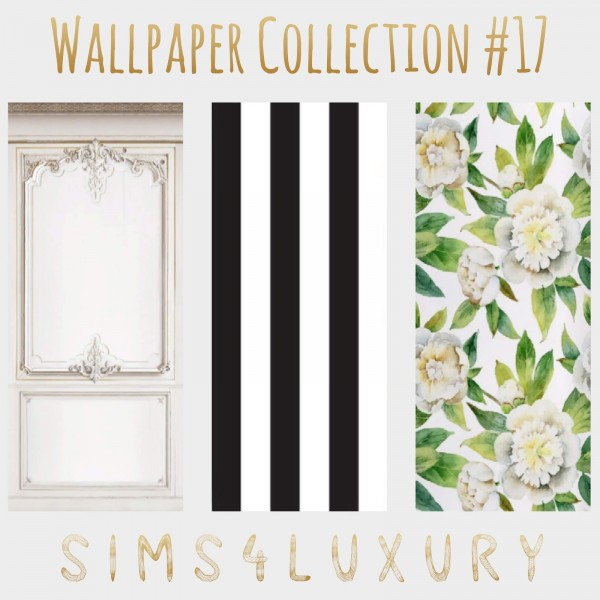 Sims4Luxury: Wallpaper Collection 17