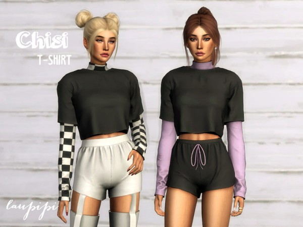 The Sims Resource: Chisi T Shirt by laupipi