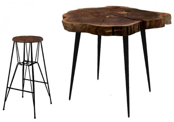 NOVVAS: Wooden bar set