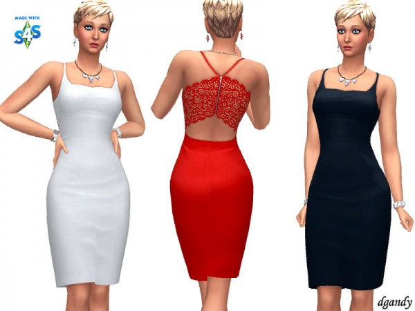 The Sims Resource: Dress 20200101by dgandy