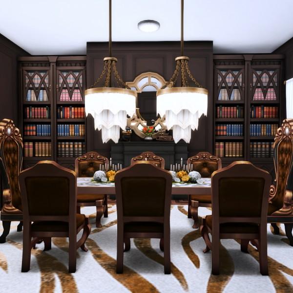 Simsational designs: Goth Manor   A home makeover