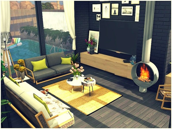The Sims Resource: Stars View house by lotsbymanal