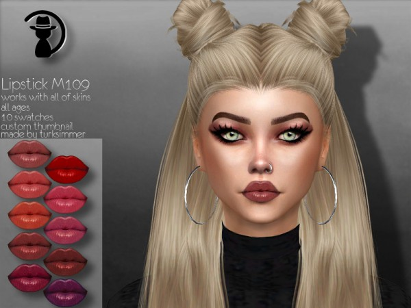 The Sims Resource: Lipstick M109 by turksimmer