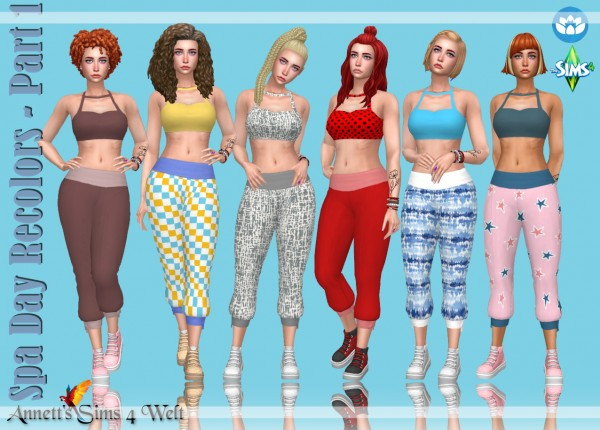 Annett`s Sims 4 Welt: Spa Day Recolors   Part 1