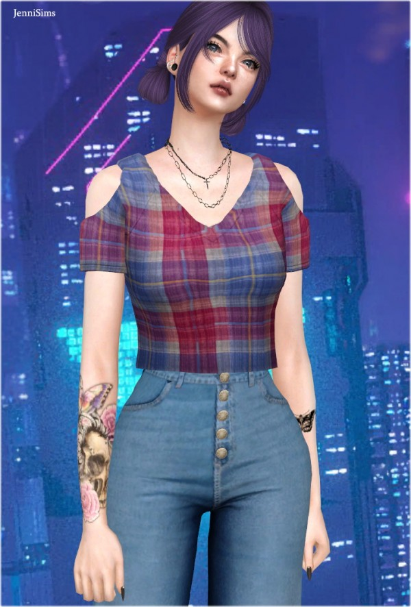 Jenni Sims: Base Game Compatible Top