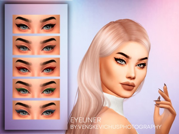 The Sims Resource: Eyeliner 1 by Jul Haos