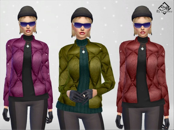 The Sims Resource: SnowTime Jacket by Devirose