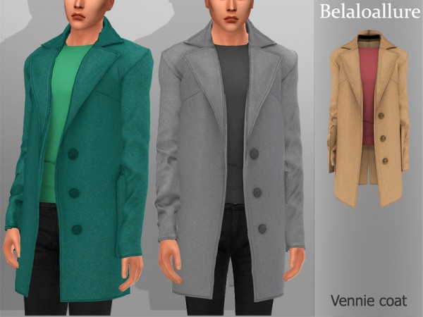 The Sims Resource: Vennie coat by belal1997