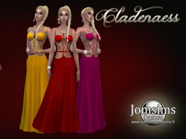 Jom Sims Creations: Cladenaess dress