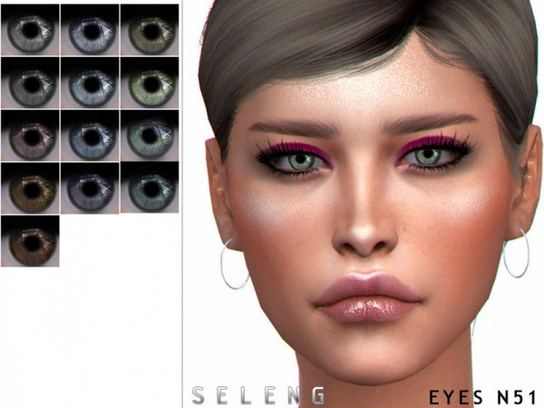 The Sims Resource: Eyes N51 by Seleng