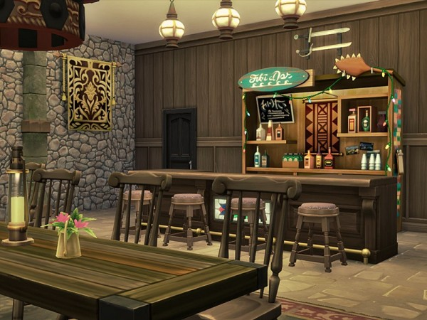 The Sims Resource: STACH   Restaurant by marychabb