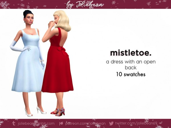 Joliebean: Mistletoe dress