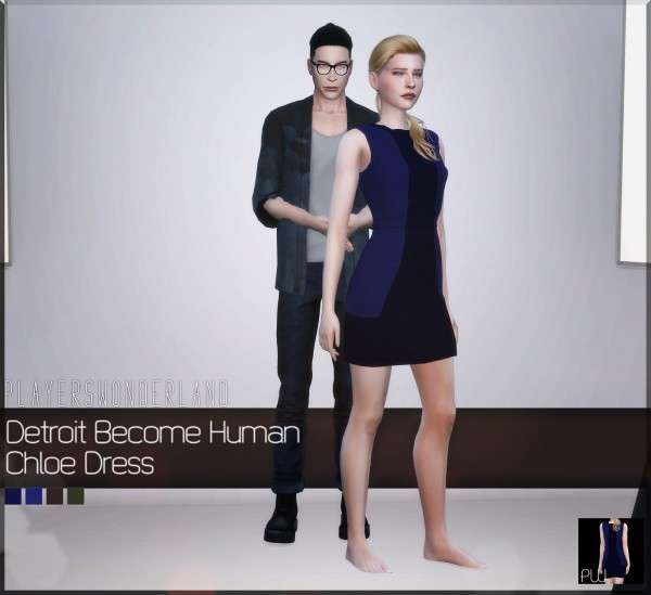 Players Wonderland: Detroit: Become Human   Chloe Dress