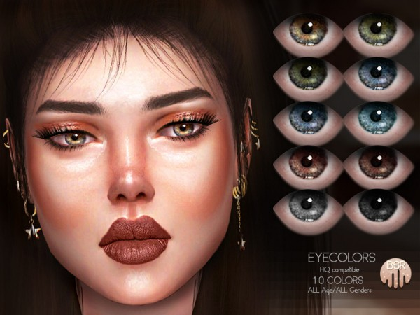 The Sims Resource: Eyecolors BES19 by busra tr