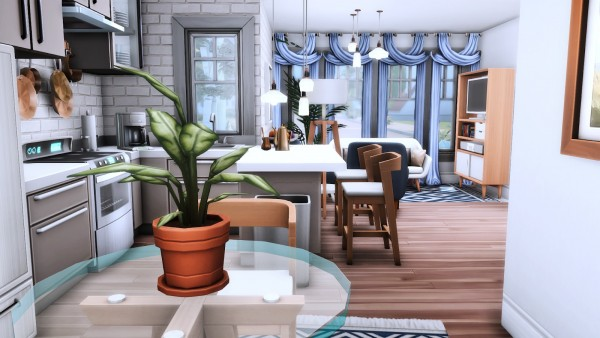 Simsational designs: Maine Street Living   Micro, Tiny and Small Home Series