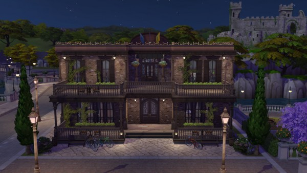 Ihelen Sims: Pub   At Mortimer by fatalist