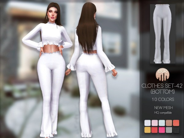 The Sims Resource: Clothes SET 42 Bottom by busra tr
