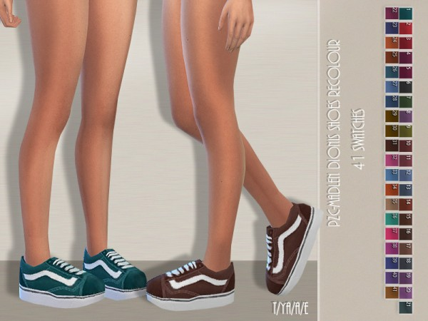 The Sims Resource: Madlen`s Dionis Shoes Recolored by Pinkzombiecupcakes