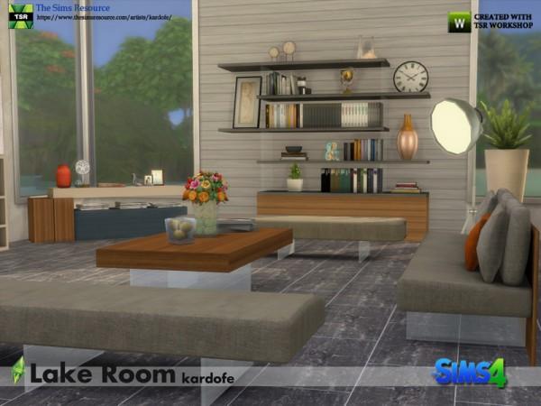 The Sims Resource: Lake Room by kardofe