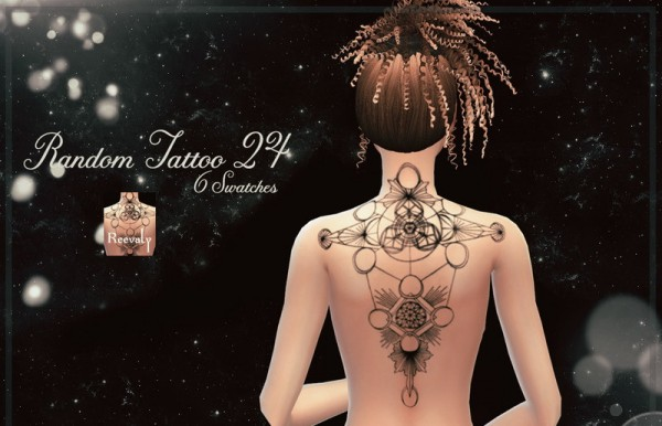 The Sims Resource: Random Tattoo 24 by Reevaly