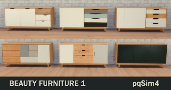 PQSims4: Beauty Furnitures 1