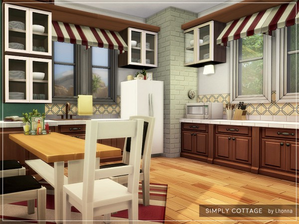 The Sims Resource: Simply Cottage by Lhonna