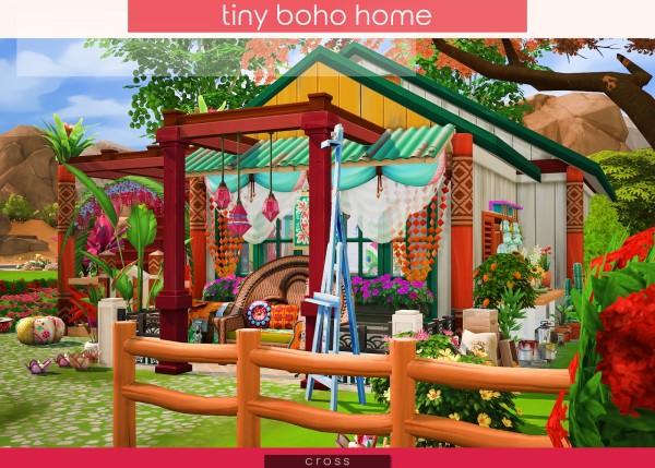 Cross Design: Tiny Boho Home
