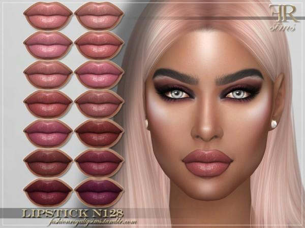 The Sims Resource: Lipstick N128 byFashionRoyaltySims