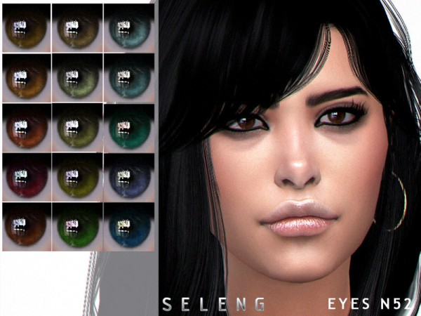 The Sims Resource: Eyes N52 by Seleng