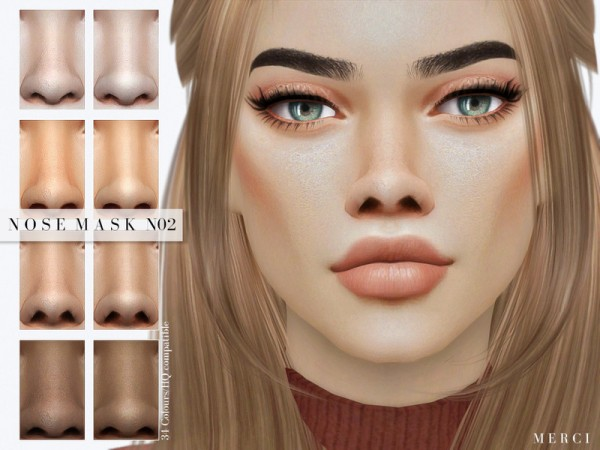 The Sims Resource: Nose Mask N02 by Merci