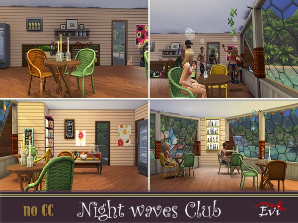 The Sims Resource: Nightwaves club by evi