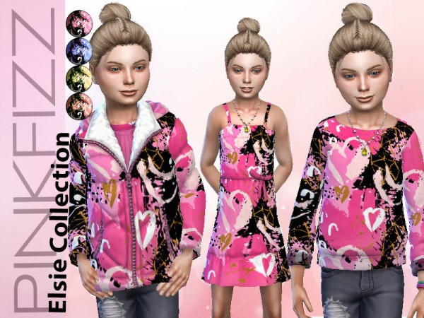 The Sims Resource: Elsie Collection by Pinkfizzzzz