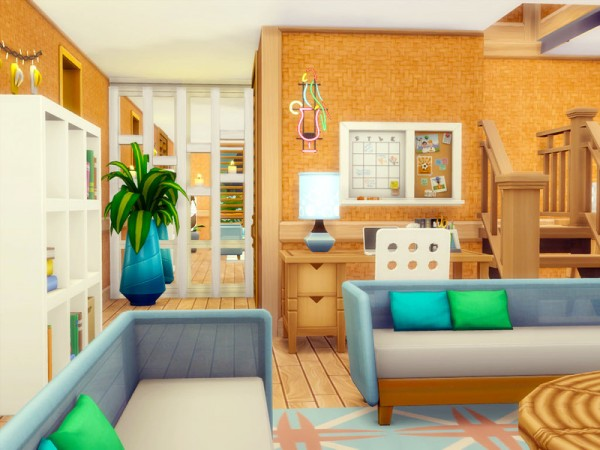 The Sims Resource: The Summer Home   Nocc by sharon337