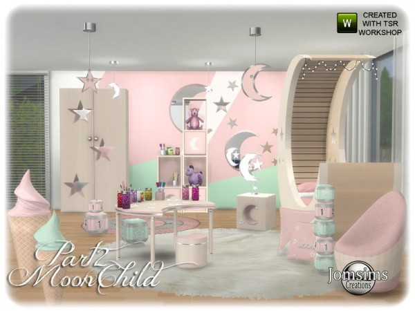 The Sims Resource: Moonchild kids bedroom part 2 by jomsims
