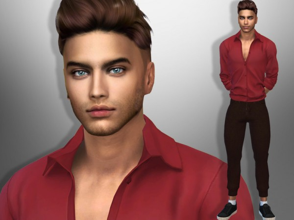 The Sims Resource: Lucas York by divaka45