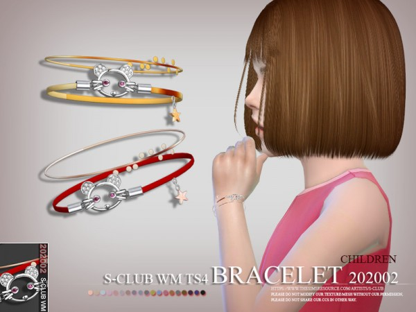 The Sims Resource: Bracelet 202002 by S Club