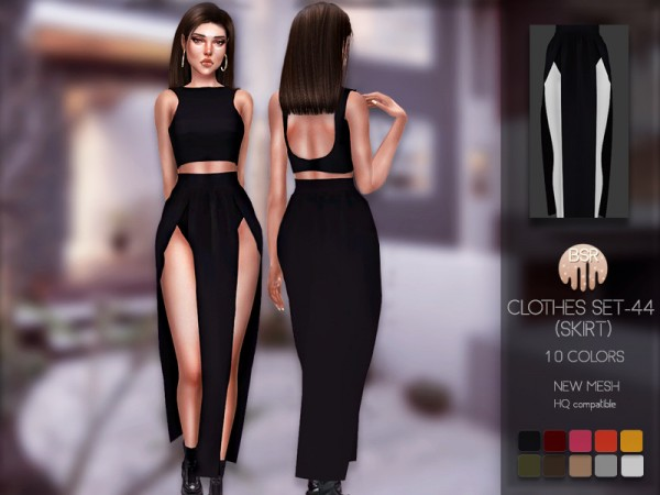 The Sims Resource: Clothes SET 44 skirt by busra tr