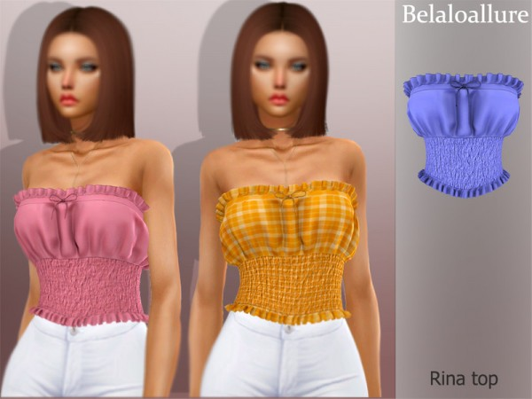 The Sims Resource: Rina top by belal1997
