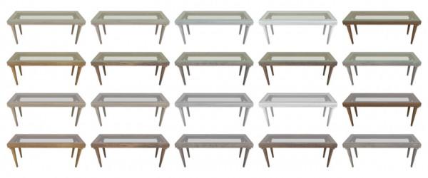 Simplistic: Restoration Hardware Hall Table