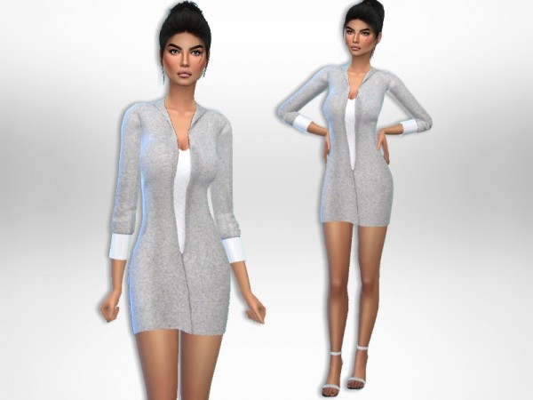 The Sims Resource: Comfy Dress by Puresim