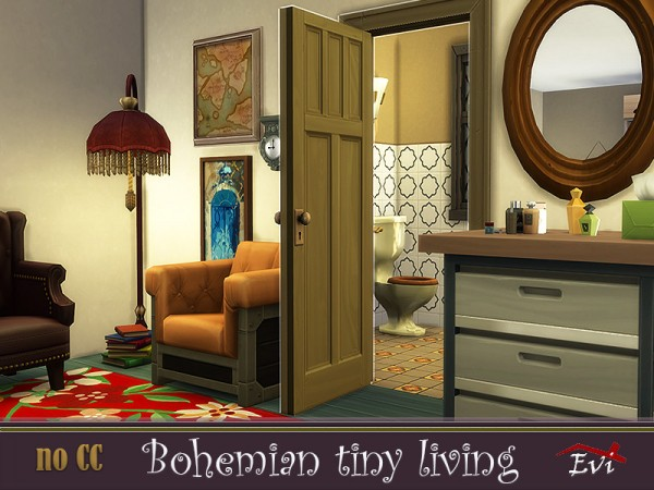 The Sims Resource: Bohemian Tiny Living by evi