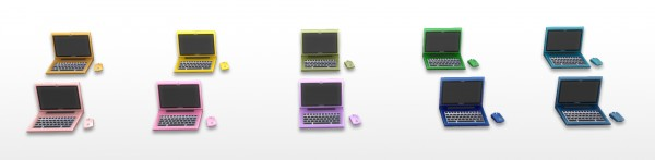 Mod The Sims: Schmapple SmacBook Pro   38 Colors! by New Era